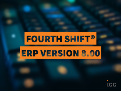 Fourth Shift® ERP Version 8.00 – Restricting GL Account Use